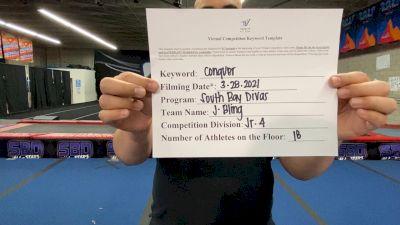 South Bay Divas - J-Bling [L4 Junior] 2021 Varsity All Star Winter Virtual Competition Series: Event V