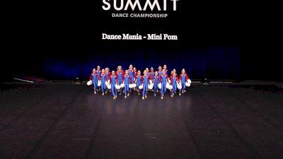 Dance Mania - Mini Pom [2021 Mini Pom - Large Finals] 2021 The Dance Summit