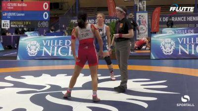 57 kg Repechage - Lauren Louive, USA vs Mehlika Ozturk, Turkey