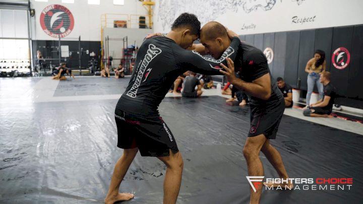 Mica Galvao Rolls With  Black Belt Yuri Villefort