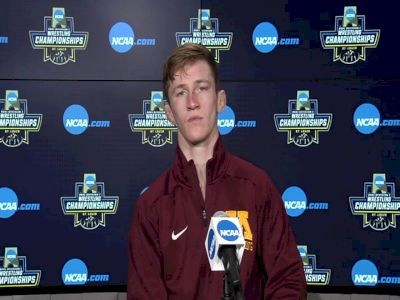 Patrick McKee (Minnesota) after placing third at the 2021 NCAA Championships