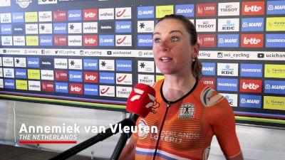 Annemiek Van Vleuten: 'We Still Wanted To Go For The Win'
