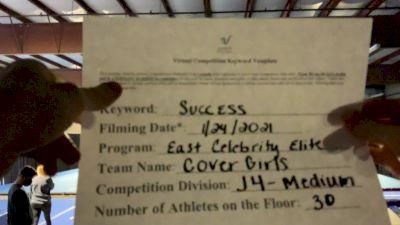 East Celebrity Elite - Covergirls [L4 Junior] 2021 Athletic Championships: Virtual DI & DII