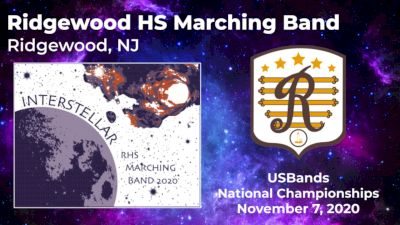 Interstellar - Ridgewood HS Marching Band