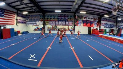 Wake Forest All Stars - Red Wolves [L3 Youth - Small] 2021 The Regional Summit Virtual Championships