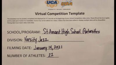 St Amant High School [Large Varsity Jazz] 2021 UDA South Spring Virtual Dance Challenge