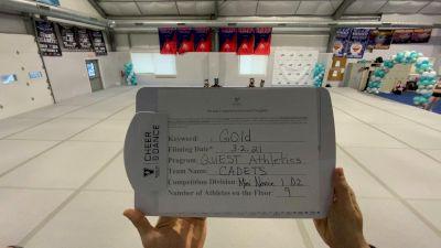 Quest Athletics [L1 Mini - Novice] 2021 Varsity Virtual Competition Series - Prep & Novice I
