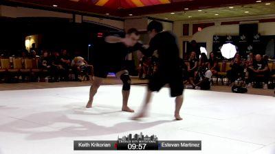 Keith Krikorian vs Estevan Martinez Emerald City Invitational Event #2
