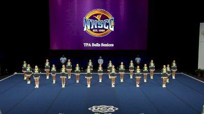 TPA Bulls Seniors [2021 Trad Rec Non Aff 14Y Finals] 2021 UCA National High School Cheerleading Championship
