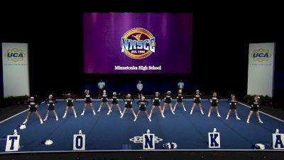 Minnetonka High School [2021 Small Non Tumbling Finals] 2021 UCA National High School Cheerleading Championship