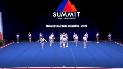 Midwest Cheer Elite-Columbus - Dior4 [2021 L4 Senior Coed - Small Wild Card] 2021 The Summit