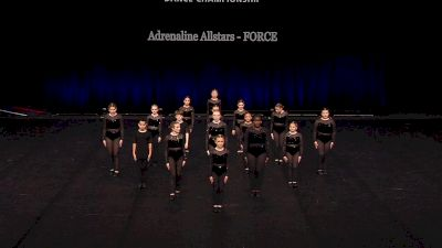 Adrenaline Allstars - FORCE [2021 Youth Jazz - Large Semis] 2021 The Dance Summit