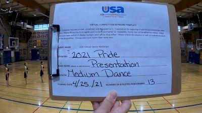 Presentation High School [Dance Varsity - Medium] 2021 USA Spirit & Dance Virtual National Championships