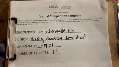 Cherryville High School [Game Day Varsity Non-Building] 2021 UCA January Virtual Regional