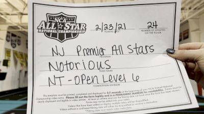 NJ Premier All Stars - Notorious [L6 International Open - NT] 2021 NCA All-Star Virtual National Championship