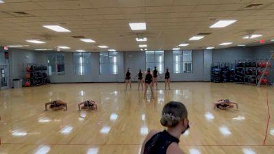 Georgia Red Hotz [Jazz Division IA Virtual Finals] 2021 NCA & NDA Collegiate Cheer & Dance Championship