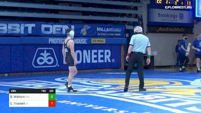 125 lbs - Tanner Jordan, SDSU vs Dawson Collins, Utah Valley