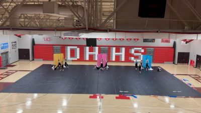 Dixie Heights Winter Guard - A Little Party