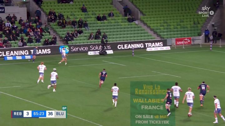 AJ Lam With A Try vs Rebels