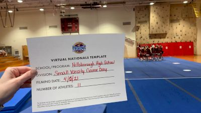 Hillsborough High School [Virtual Small Varsity Game Day Semi Finals] 2021 UCA National High School Cheerleading Championship