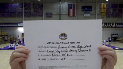 Bowling Green High School [Virtual Large Varsity - Game Day Semi Finals] 2021 UCA National High School Cheerleading Championship