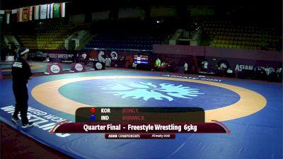65 kg Quarterfinal, Bajrang (IND) vs Jeong (KOR)