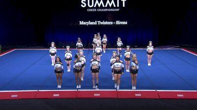 Maryland Twisters - Sirens [2021 L4 Senior - Small Semis] 2021 The Summit