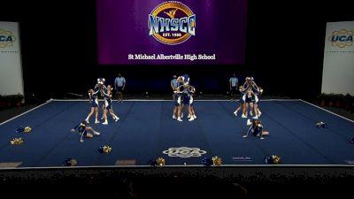 St Michael Albertville High School [2021 Small Non Tumbling Semis] 2021 UCA National High School Cheerleading Championship