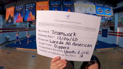 Laredo All American - Dippers [Level 2 L2 Youth - Non-Building] Varsity All Star Virtual Competition Series: Event VII