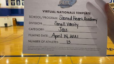 Sacred Heart Academy [Small Varsity - Jazz Virtual Finals] 2021 UDA National Dance Team Championship