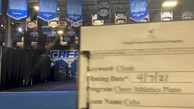 Cheer Athletics - Cubs [L2 Mini] 2021 The Regional Summit Virtual Championships