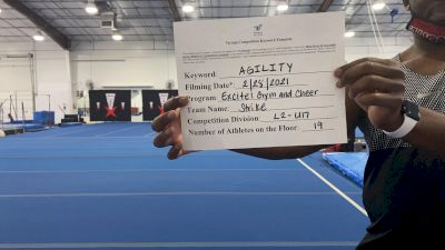 Excite Gym and Cheer - Strike [Level 2 L2 - U17] 2021 Varsity All Star Winter Virtual Competition Series: Event III