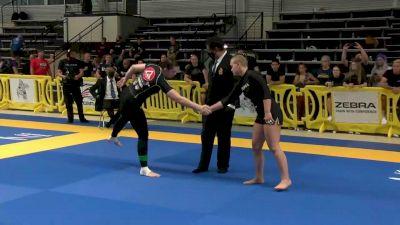 Elisabeth Clay vs Kendall reusing Absolute Final 2021 Pan IBJJF Jiu-Jitsu No-Gi Championship Flozone