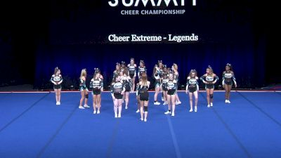 Cheer Extreme - Legends [2021 L4 U17 Finals] 2021 The Summit