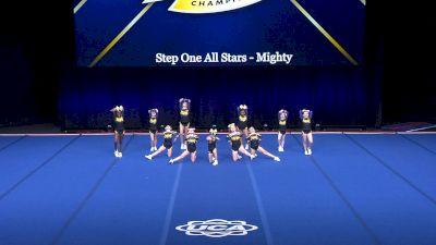 Step One All Stars - Mighty [2021 L1 Mini Day 2] 2021 UCA International All Star Championship