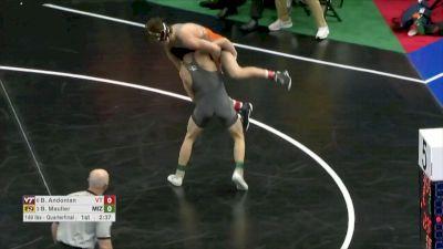 149 q, Brock Mauller, MIZ vs Bryce Andonian, VT