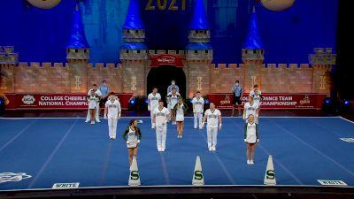 Shelton State Community College [2021 Cheer Open Coed Semis] 2021 UCA & UDA College Cheerleading & Dance Team National Championship