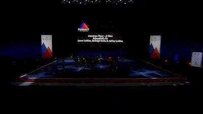 American Cheer - Jr Blue [2021 L2 Junior - Small Semis] 2021 The Summit