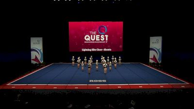 Lightning Elite Cheer - Electric [2021 L3 Performance Rec - Non-Affiliated (14Y) Semis] 2021 The Quest