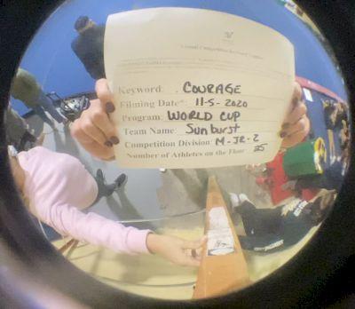 World Cup - Sunburst [Level 2 L2 Junior - Medium] Varsity All Star Virtual Competition Series: Event III