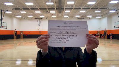 Beavercreek High School [Small Varsity Pom] 2020 UDA North Virtual Dance Challenge