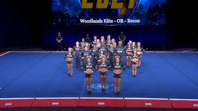 Woodlands Elite - OR - Recon [2021 L6 International Open Coed Non Tumbling Semis] 2021 The Cheerleading Worlds