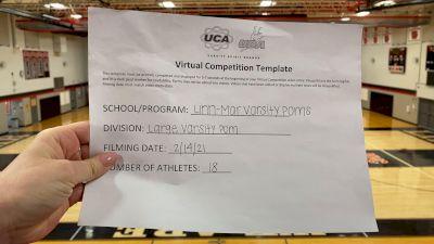Linn-Mar High School [Large Varsity Pom] 2021 UDA Spirit of the Midwest Virtual Challenge