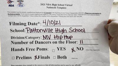 Pattonville High School [Virtual Medium Varsity - Hip Hop Finals] 2021 NDA High School National Championship
