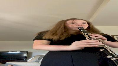 Orange Clarinet Solo - Terri Jones - Konzert No. 3