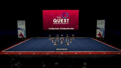 Tri Valley Youth - Tri-Valley Cheer Club [2021 L1 Performance Rec - 12Y (NON) - Small Semis] 2021 The Quest