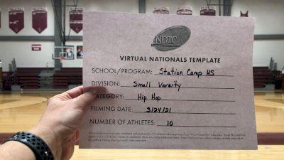 Station Camp High School [Small Varsity - Hip Hop Virtual Finals] 2021 UDA National Dance Team Championship