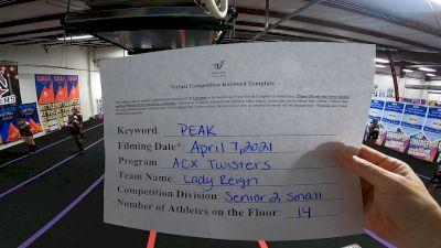 ACX Twisters - Reign [L2 Senior] 2021 The Regional Summit Virtual Championships