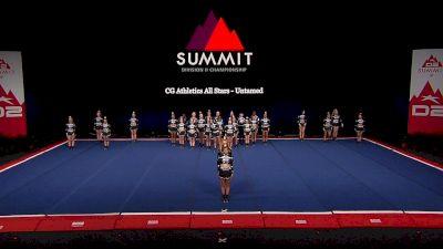 CG Athletics All Stars - Untamed [2021 L4.2 Senior Coed - Medium Finals] 2021 The D2 Summit