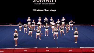 Elite Force Cheer - Onyx [2021 L2 Junior - Small Semis] 2021 The D2 Summit